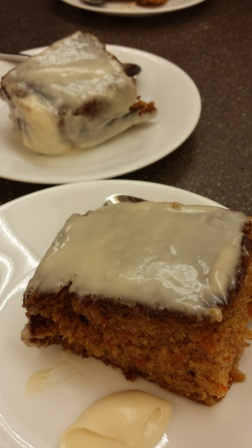 Carrot Cake Cream Cheese Icing