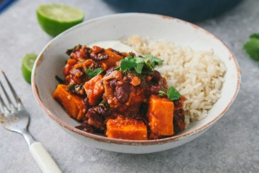 sweet potato kale chili